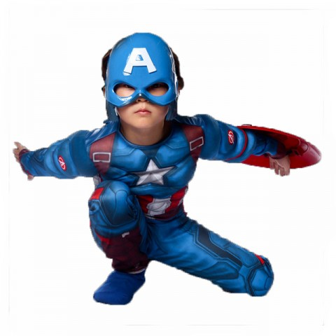 Captain America Dress-Up Set - Brave Soldier- 2-6yrs