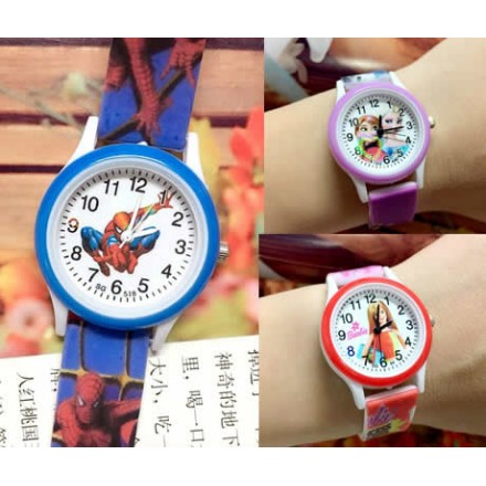 Children Cartoon Fashion Analog Watches For Boys & Girls - assorted designs