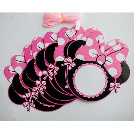 Happy Birthday Minnie Mouse Birthday Banner