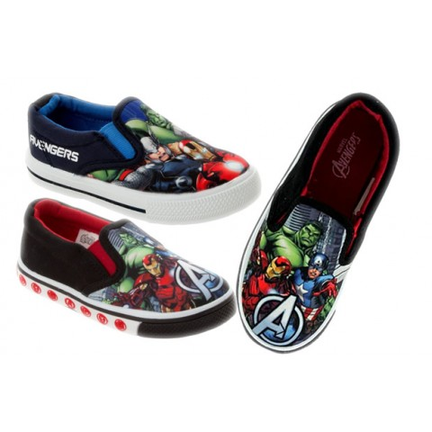 Marvel Avengers Boys Canvas -assorted designs- EUR 22, 23, 28, 30, 31, 32, 35