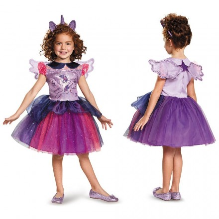 Twilight Sparkle Tutu Deluxe My Little Pony Costume, size 6-7yrs