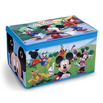 Disney Kids Oversized Soft Collapsible Storage Toy Trunk- assorted designs