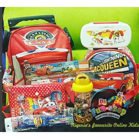 Disney Cars School Matched set