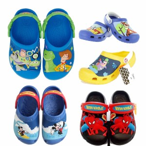 Original Crocs Boys Clog (Size 6-3)- Cars, Toy story, Pooh, Mickey, Spongebob, Spiderman, Planes, Superman