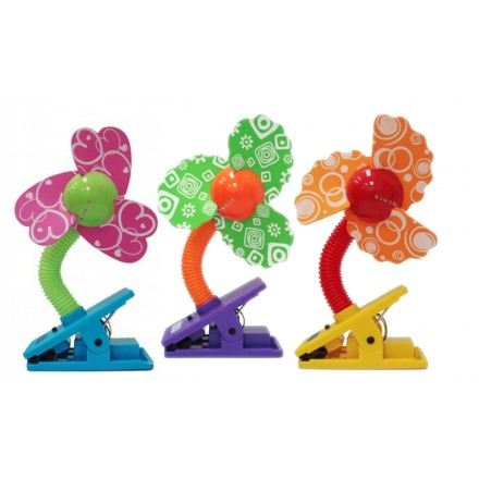 Lucky Baby Mini Laser Safety Clip-On Fan