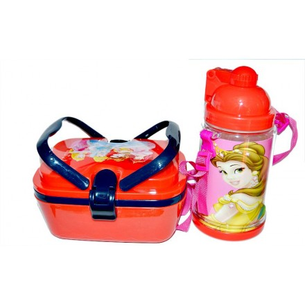 Character Food & Water Combo Lunch Set- Princess