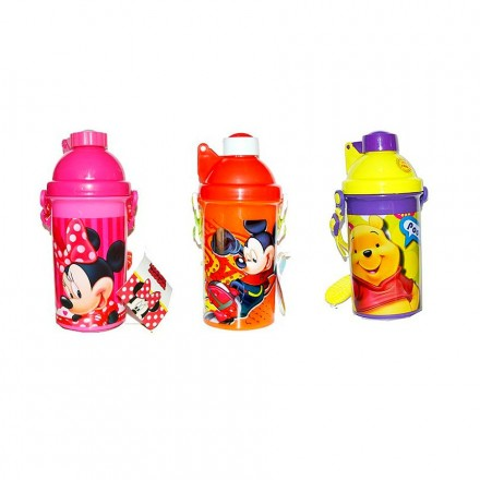 Character Pop Sipper Bottles- assorted