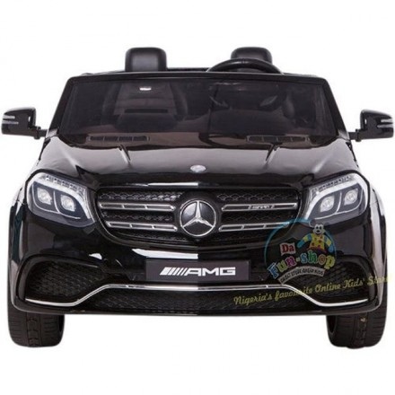 24V Mercedes-Benz GLS63 Twin Seat Electric Ride On Car for kids