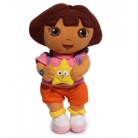 Dora The Explorer With Star Plush Doll