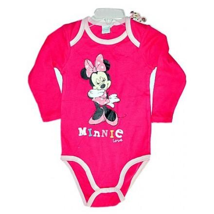 Disney Minnie Long-sleeve Bodysuit (3-9mths)