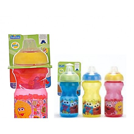 Sesame Street Beginnings 11oz Soft Spout Cup