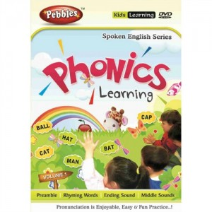Pebbles Phonics Learning For kids DVD (3-5 Yrs)