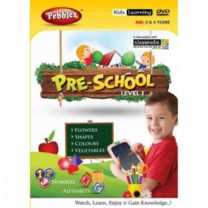 Pebbles Preschool DVD (Age 2-4 Yrs)