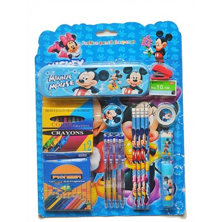 37pcs Character Stationery Set- assorted
