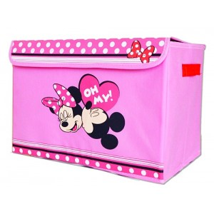 Kids Collapsible Storage Box- Minnie, Cars