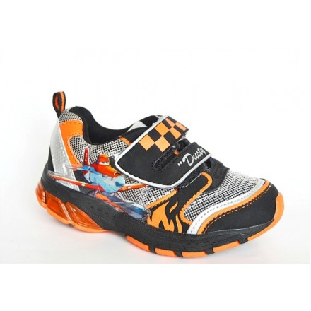 Boys Disney Planes Dusty Light Up Trainers - Size 25, 28