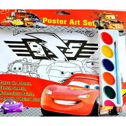 Character Kids Poster Art Set- assorted