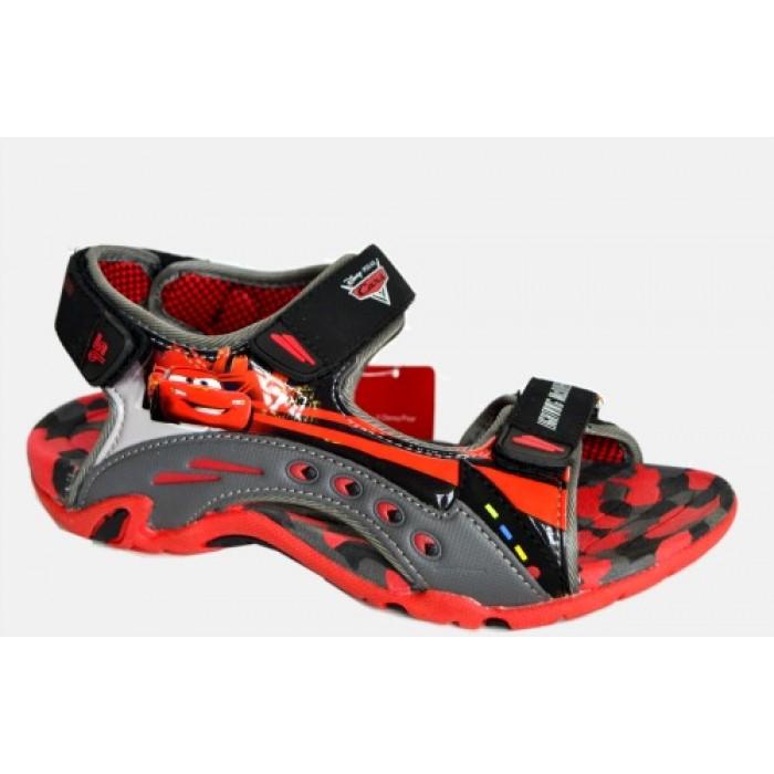 26444d0a68b4 Disney Cars Lightning McQueen Velcro Summer Sandals EUR Size 35
