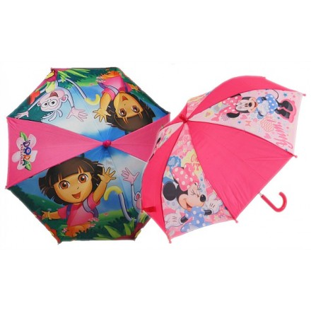 Character Umbrella- Girls designs only