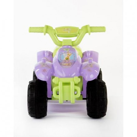 Disney Fairy Girls' 6-Volt Battery-Powered Quad Ride-On