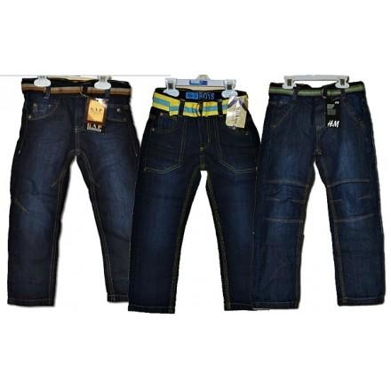 Boys Belted Denim Jeans (ZARA, GAP, H&M) - 3-7yrs