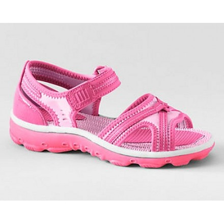 Lands'End Ice Pink Girls Action Sandals- UK 4/EUR 37