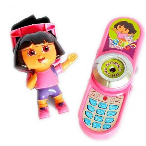 Dora Mobile Phone & Figure toy set
