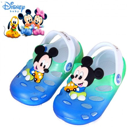 Cute 3d Cartoon Rubber Clogs- Mickey, Sofia available (size 24-30)