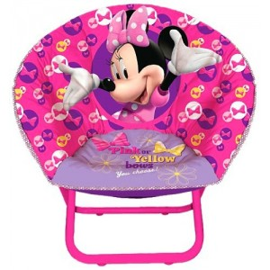 Disney Minnie Mouse Folding Saucer Chair