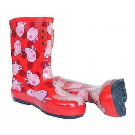 Peppa Pig Girls Rain Wellies Boots- Size 30,31