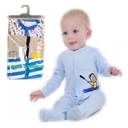 NEXT THREE PACK INFANT SLEEPSUITS - BOYS & GIRLS
