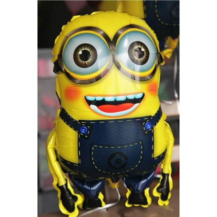 Large 3d Minions Party Foil Helium balloons