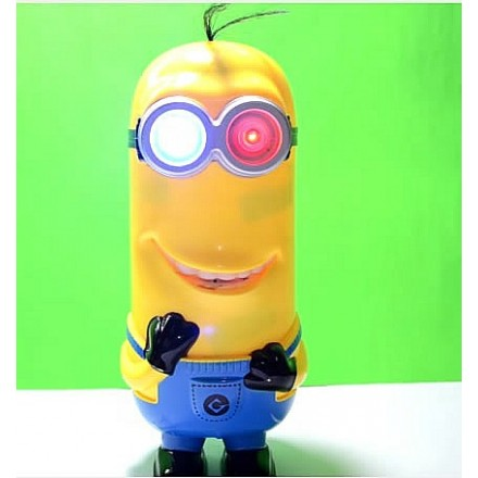 Minions Intelligent Recording Kevin Doll with Light up Eyes & Music