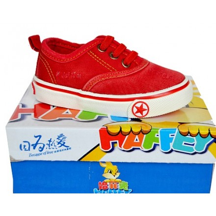 Haffey Rabbit Infant boys Sneakers- Red- Size 20-22