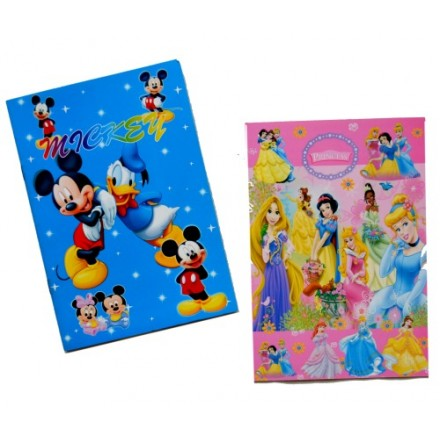 Character Kids Notepad- assorted design
