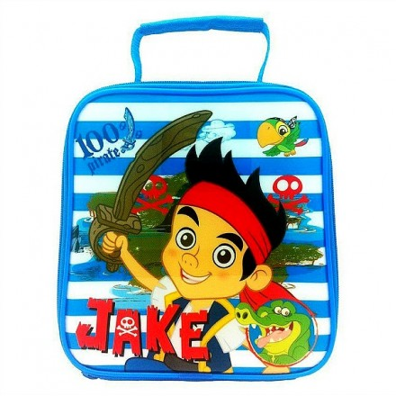 Jake and the Neverland Pirates/Polar Gear Insulated Lunch Bag