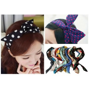 Lovely Girls/Ladies Bow Wire Headwraps- assorted designs