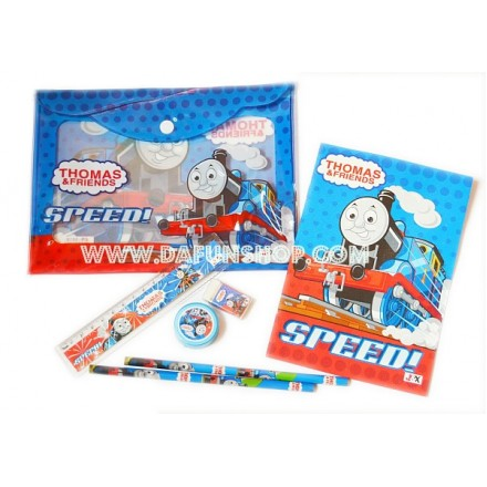 Kids 7pc Stationery Study Set- assorted characters- SOLD IN DOZENS