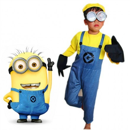 Boys Minion Costume (5- 6yrs)