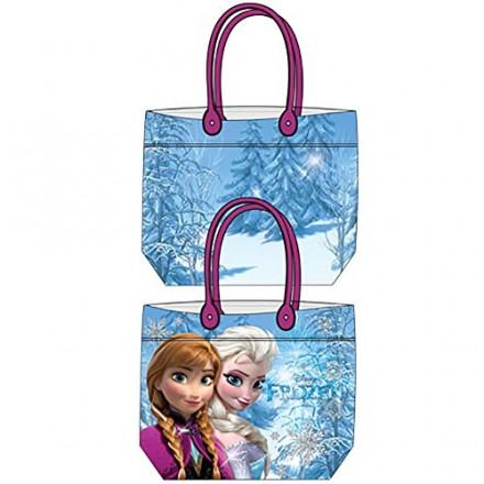 Disney Frozen Anna & Elsa Girls Beach Tote Bag