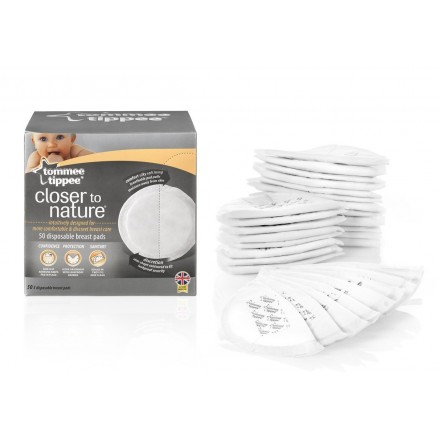 Tommee Tippee Disposable Breast Pads, 50-Count