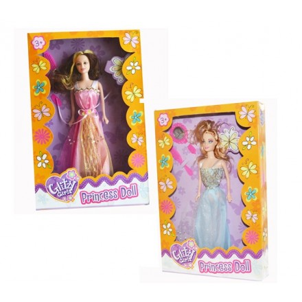 Glitzy Girlz Princess Doll