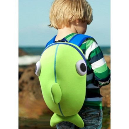 Baby Kindergarten Kids Whale Backpack- assorted colours