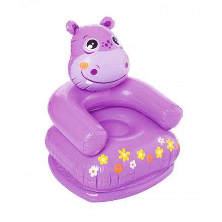 Intex Inflatable Animal Chair-Frog, Teddy, Hippo