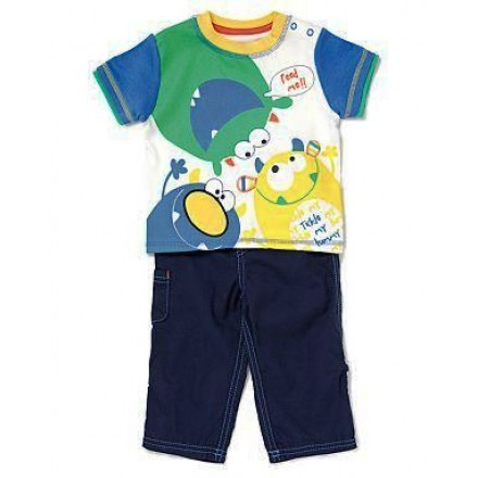 George Babyboy 2pc Outfit- 6-9,18-24mths