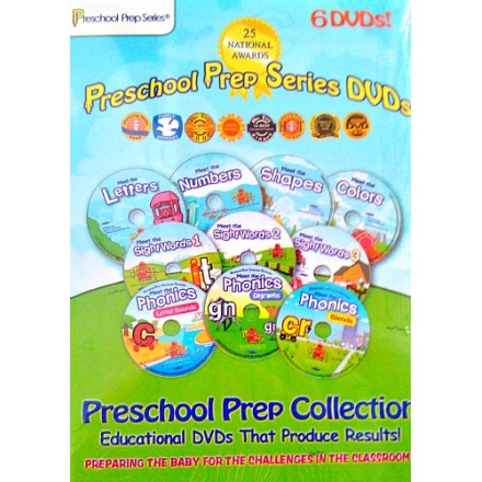 Preschool Prep Series 6 DVD Pack
