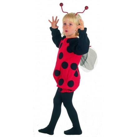 LADY BUG TODDLER COSTUME- 2-3yrs