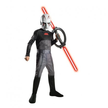 Star Wars Boys Inquisitor Costume - 5-7yrs