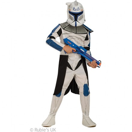 Star Wars Clone Trooper Captain Rex Costume (8-10yrs)