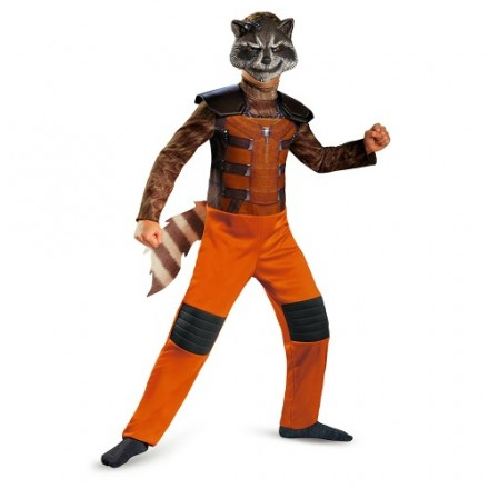 Disguise: Marvel Guardians of The Galaxy Rocket Raccoon Boys Costume, Medium/7-8yrs